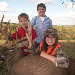 Allison's 1st Deer 2